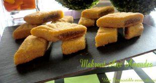Makrout aux amandes au four