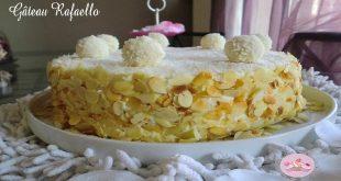 Gâteau Raffaello