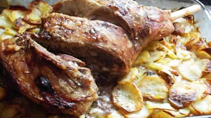 Mechoui d agneau au four recette marocaine - Cuisiner du collier d agneau ...